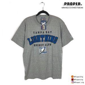 Lee Shirts Vintage Tampa Bay Lightning Lee Sport T Shirt